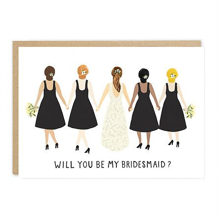in klöver ni design jade fisher will you be my bridesmaid card