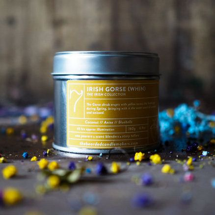 The Bearded Candle Makers - 07 Irish Gorse Wind Hand-Poured Soy Candle