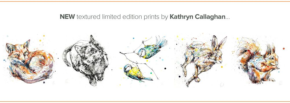 in klöver | ni design - NEW Kathryn Callaghan Textured Prints